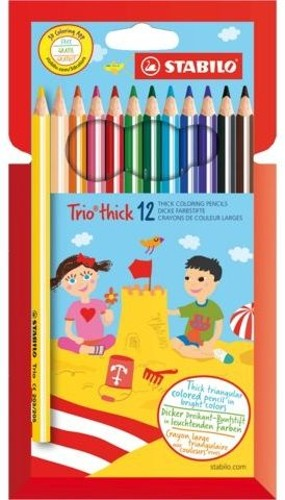 STABILO Trio thick - 12ks 203/12-01