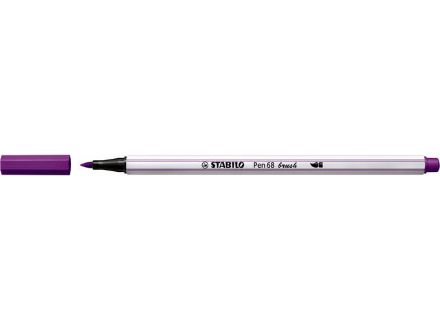 STABILO PEN 68 Brush, lila